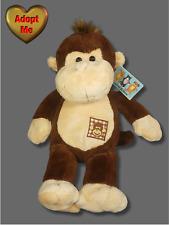 Friends For All Seasons Brown Chimp Monkey Stuffed Plush Animal 12in