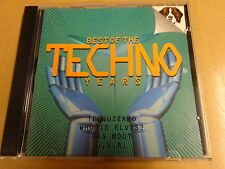 CD / BEST OF THE TECHNO YEARS