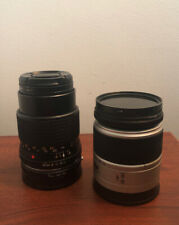 Two Vintage Minolta Lenses AF Zoom 28-80 & Minolta Celtic 135mm f/3.5