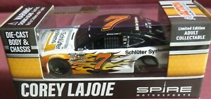 CORY LAJOIE, SCHLUTER SYSTEMS, #7, 1/64 2021 DIECAST CHASSIS,  1 OF 576 MADE, IN