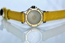 Cartier Santos Octagon 18k Gold & Steel Automatic Ladies Watch