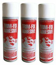 Trim Fix 500ml High Temperature Adhesive Spray Carpet Glue For Cars Van Lining