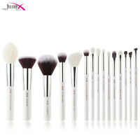 Jessup Make up Brush Set 15Pcs Face Powder Foundation Blush Blending Brushes Kit