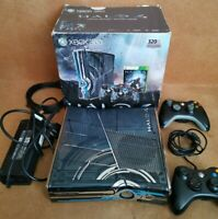 Microsoft Xbox 360 Slim Halo 4 Limited Edition 320GB Limited Console - Boxed