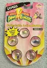 Mighty Morphin Power Rangers: Zords - 5 Action Marbles - Series II - 1994 - NEW