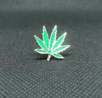 New Weed 4:20 Marijuana leaf Hippy 70s Metal Hat Backpack Flair Vest Enamel Pin