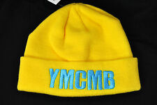 NEW YMCMB YOUNG MONEY men/women casual BEANIE hat YELLOW/TEAL *ONE SIZE