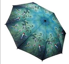Galleria Hautman Hummingbird Automatic Open Close Folding Umbrella Brolly
