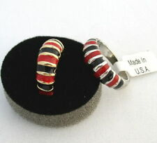 BLACK & RED RING ATLANTA Georgia South Carolina Tampa Bay Falcons UGA Cocks New