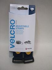 Nuevo Velcro Correas Ajustables 25mm X 92cm X 2 Correas 60327