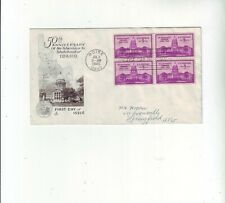 USA FDC 50 Years Anniversary Staathood of Idaho Boise - Springfield 3.7.1940.