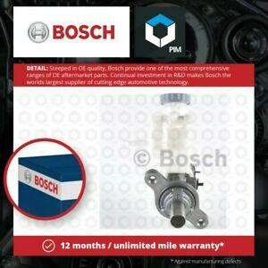 Brake Master Cylinder fits SUZUKI SWIFT 1.3 1.3D 05 to 14 Bosch 5110062J30000