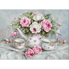Cross Stitch Kit Roses Luca-S Point de croix Punto de cruz
