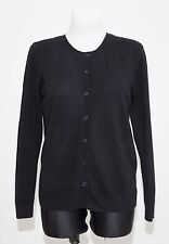 WOMENS CUBUS CAEDIGAN WITH CASHMERE JACKET BLACK SIZE M MEDIUM EXCELLENT