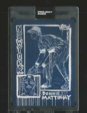 Topps Project 2020 Don Mattingly Yankees #69 Sp by Gregory Siff in Hand with Box
