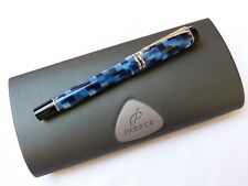 Parker Duofold Füllfederhalter 18K B FOUNTAIN PEN CHECK   BOXED    NEW OLD STOCK