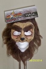 ADULT WEREWOLF WOLFMAN CHINLESS DELUXE LATEX MASK COSTUME TB27525
