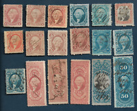 US REVENUE STAMP LOT ALL DIFFERENT, BANK , EXPRESS, BILL LADEN, POWER ATTORNEY