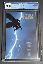 Batman The Dark Knight Returns 1, CGC 9.8 First Print White Pages