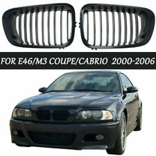 Gloss Black Front Kidney Grille Grill 51138208683 For BMW E46 M3 Coupe 2000-07