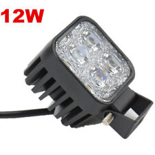 12W Car LED Work Light Flood Front Offroad Spot Truck Driving SpotHead Lamp SUV