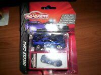Majorette 212053152-Deluxe assortment-Nissan GT-R-azul-nuevo
