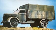 Italeri 1/35 Opel-Blitz 3.6-3000S German 4x2 3Ton Truck WWII with 2 Soldiers 216