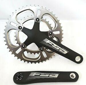 FSA Road bike Omega Chainset 170mm 10 11 Speed 50T 34T 110BCD MegaEXO Kuota ring