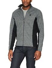 NWT Mens Black Spyder Constant Full Zip Mid weight core sweater $149 Size XXL
