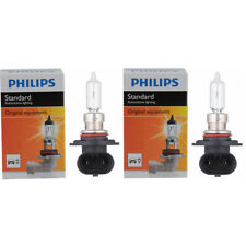 Two Philips Standard Halogen Light Bulb 9011C1 for 9011 HIR1 12V 65W PX20d wt