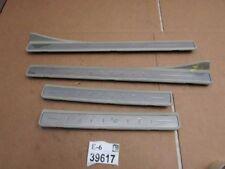 02 2003 2004 Infiniti I35 door scuff plate sill trim molding garnish rocker Tan