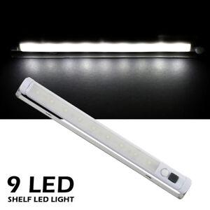 Led luce Sensore Di Movimento Pir Striscia Led luce a batteria per armadio IT🌼