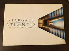 Stargate Atlantis The Complete Series DVD Set, Excellent, All 5 Seasons + bonus