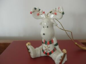 Lenox China Moosecapades Christmas Tree Ornament NIB
