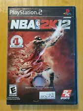 NBA 2K12 (Sony PlayStation 2, 2011) PS2 - Complete with Manual