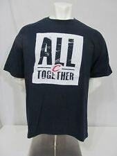 Used 2010 SGA All Together Playoffs Cleveland Cavaliers NBA Screened T-Shirt XL
