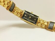 LASSALE (by Seiko) CZP052 LADIES 22KT GOLD PLATED VINTAGE NON-WORKING WATCH 2E20
