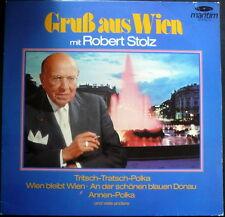 LP  Gruß aus Wien mit Robert Stolz