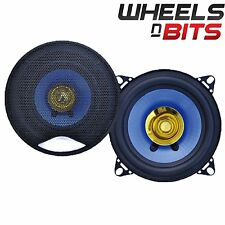 "NEW J-Audio AC-4001 4"" 10cm Dual Cone Car Speaker 100 Watt Each 200 Watts a Set"
