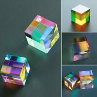 1 * Optical Glass Dichroic Cube Prism RGB Combiner Splitter Gift Soft Well 2020