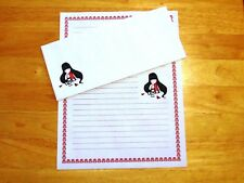 Gorjuss Girl Stationery Writing Set With Envelopes - Lined Stationary