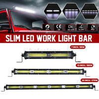 4/7/13/20'' Inch Slim LED Work Light Bar Combo Offroad Car Truck SUV 12V 24V J