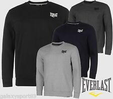 SWEAT-SHIRT EVERLAST HOMME AUTHENTIQUE DOUBLURE POLAIRE DOUCE LOGO BRODÉ
