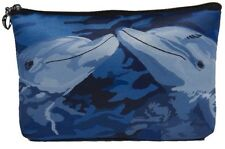 Dolphins Cosmetic Bag by Salvador Kitti - Support Wildlife Conservation, Read