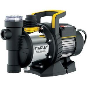 Stanley Gartenpumpe 900 W, 3.600 l/h, 4,2 bar, mit Filter, Edelstahl-Gehäuse