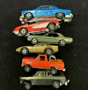 Lot of 6 ERTL Diecast Cars-Sold As Is