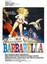 BarbarellA Poster 05 A3 Box Canvas Print