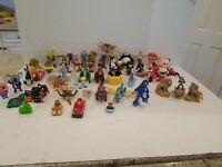 Vintage 1990s 2000s Disney McDonald's Happy Meal Toys Huge Lot of 45 Pieces