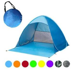 Outdoor Camping Infant 50+ UV/UPF Pop Up Beach Tent Sun Shade Shelter Protection