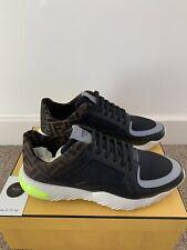 Fendi Logo Mesh Leather Sneakers BNWB UK9 (EU43) RRP £710 Selling For £450